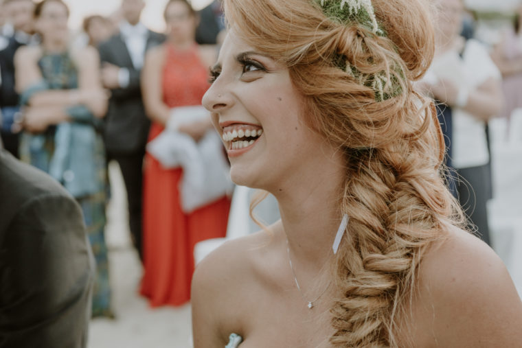 Matrimonio in spiaggia a Gaeta, ristorante Giardino di Serapo - Paola Simonelli fotografa - Stefania e Giovanni sposi