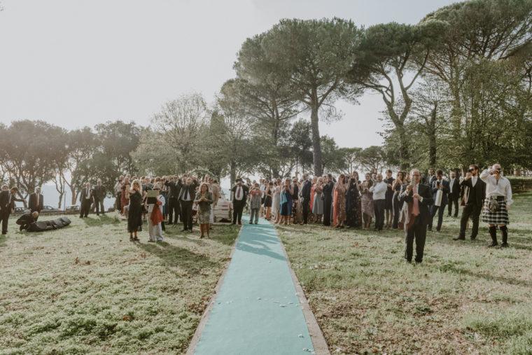 Wedding in Rome bohemian style - Villa del Cardinale Rocca di Papa (Roma) - Paola Simonelli fotografa di Matrimoni - Ilaria e James