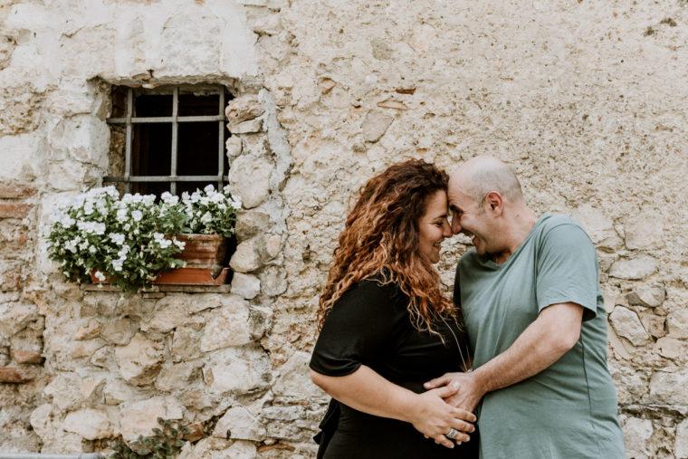 Servizio fotografico di gravidanza a Fondi - Paola Simonelli fotografa di matrimonio - Francesca e Simone