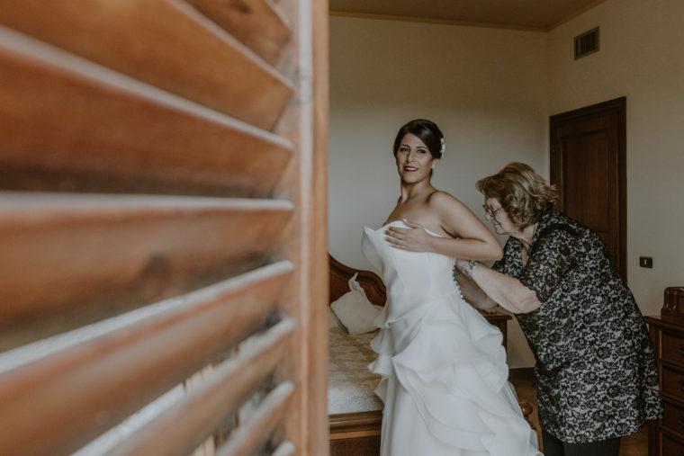 Fotografa di matrimoni a Fondi, Sperlonga, Gaeta, Monte san Biagio, Formia, Terracina. Paola Simonelli Fotografa - Maria e Aurelio