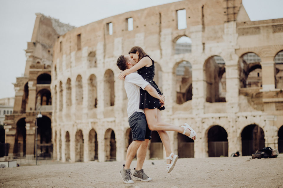 servizio fotografico a Roma - photographic session in Rome - engagement session in rome - servizio fotografico di coppia a Roma - couple session in Rome - fotografo Roma - Mariaelena e Richard